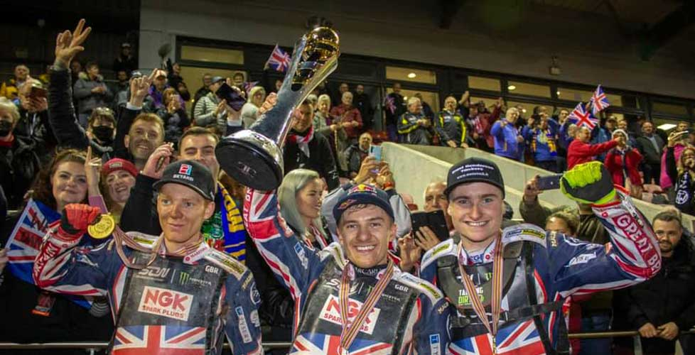 Great Britain Speedway team crowned World Champions